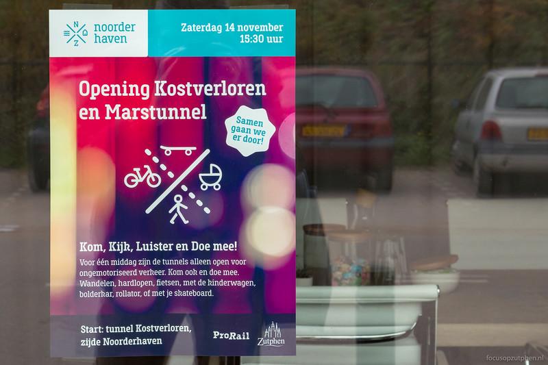 Opening Kostverloren en Marstunnel