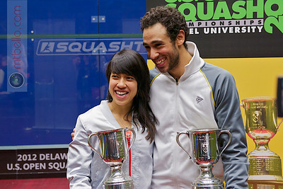 2012 US Open Trophies and Candids