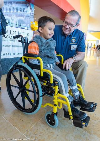 CRIT Occidente Wheelchair Distribution