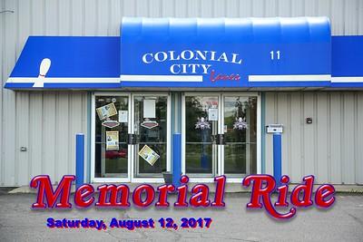 August 12, 2017 - Memorial Ride