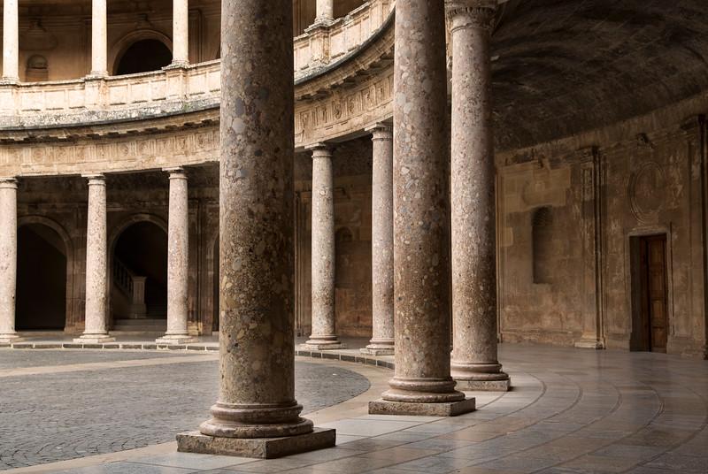 Palacio de Carlos V, Alhambea, Granada