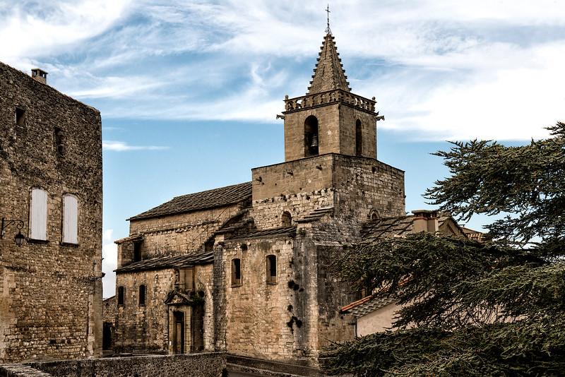 Church in Venasque - 12th century