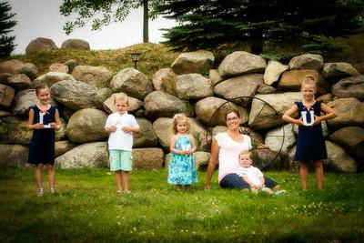 Michelle and Alicia Family