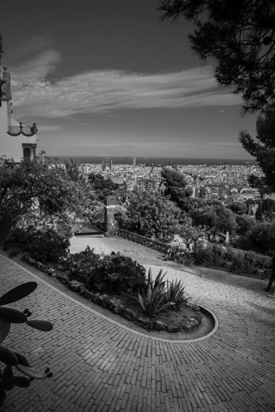 "Park Guell ""Lombard Street"" - Barcelona"