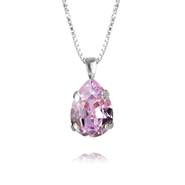 Mini Drop Necklace : Violet Rhodium.jpg