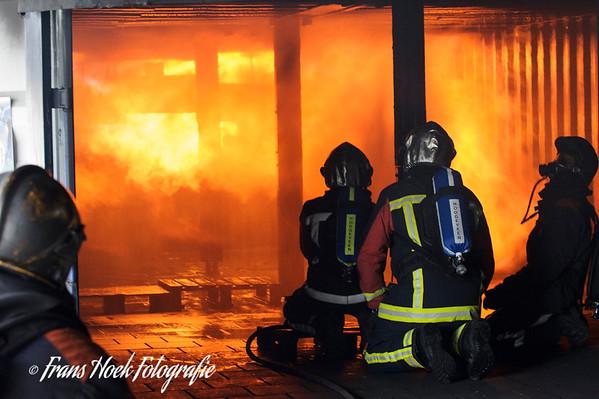 Fire-brigade Training