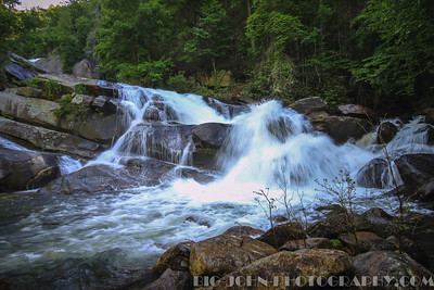 Jocassee Moonlight Sail and hike to Moondance Falls (The last of the whitewater river cascades 5-25-13)