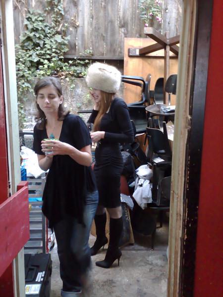 Backyard Finns  From the Jaiku party in San Francisco, Supernova 2007
