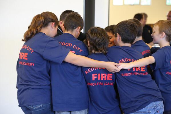 Redwood City Fire, Junior Fire Academy, June 2013