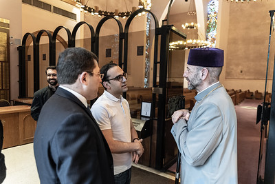 Armenia's Deputy Prime Minister Visits St. Vartan Cathedral, New York City, July 18, 2019