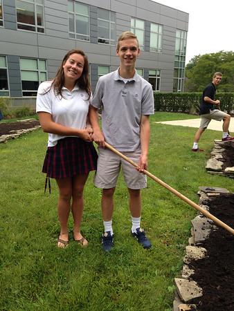 Academic Courtyard Gardening