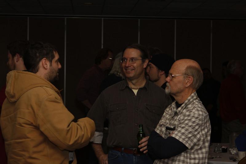 Brian Schupbach, Greg Vogel, & Dan Stenman