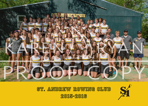 Saint Andrew Rowing Club 2016