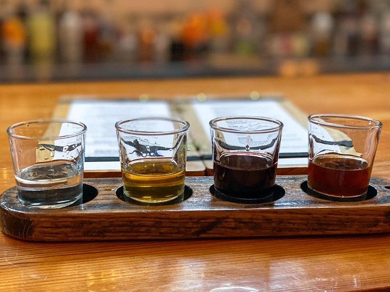 Ann Arbor Distilling Company flight
