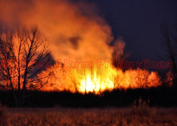 Wildland Fire Cimarron Hills FD Peterson RD