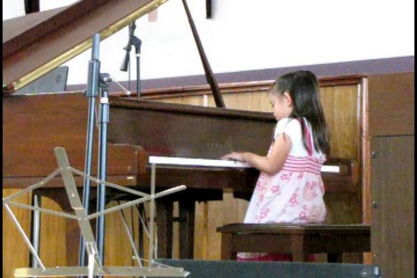Kevin and April's Piano Recital