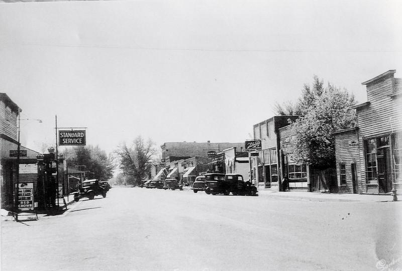 Briggs street looking north