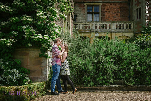 Charlecote Park Engagement Photography