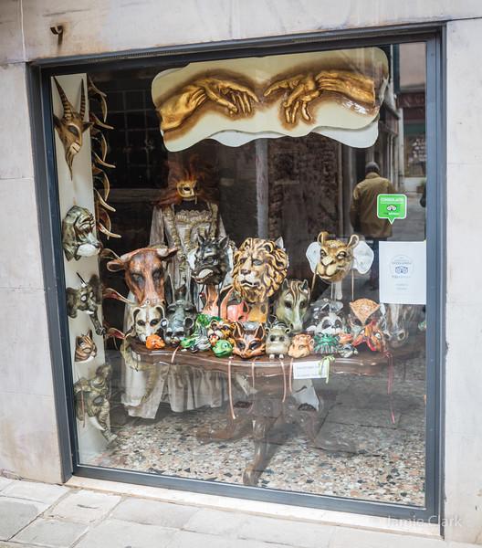 Masks...Venice, Italy -  October 2017
