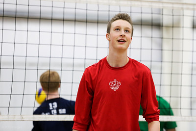 Calgary Canucks Volleyball, March 2013