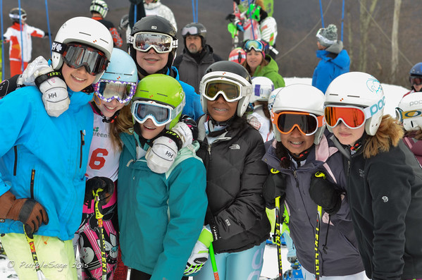 Wintergreen Giant Slalom Race 1-  2/07/2015