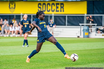 8-16-18 - Best of Michigan Women's Soccer Vs Boston University