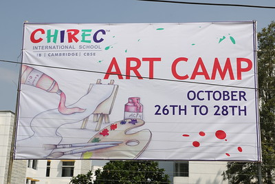 ART CAMP (October 26 to 28, 2016)