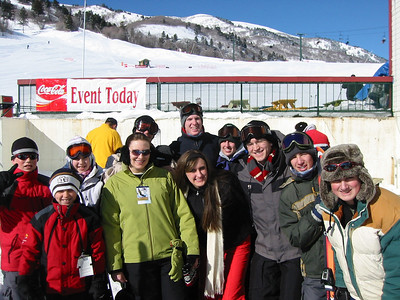 2007, Skiing with Butler Relatives