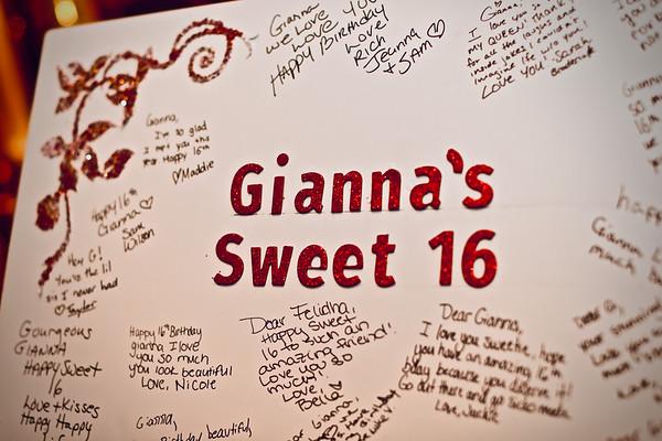 Gianna Sweet 16