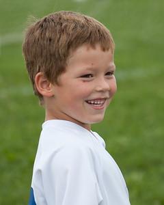 Adrik at his Soccer Game