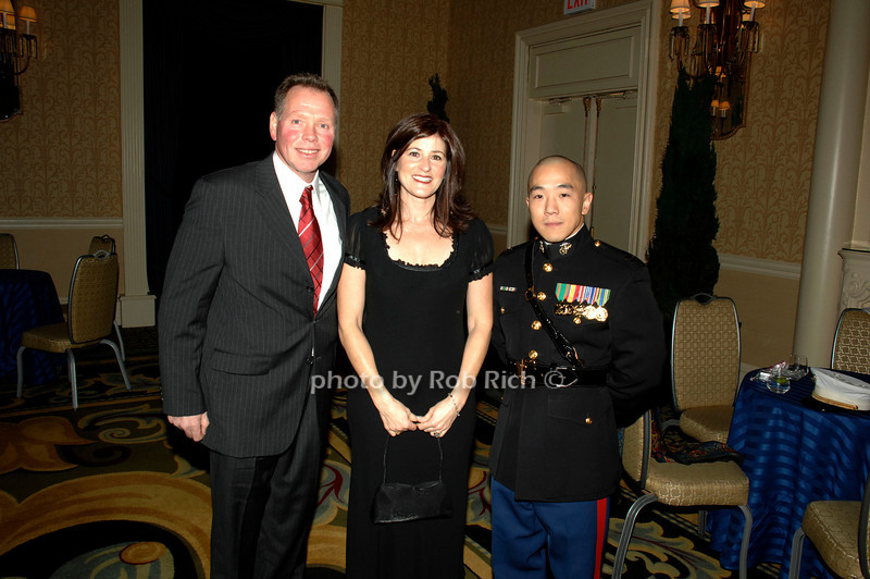 The 46th.Annual USO of Metropolitan New York Armed Forces Gala & Gold Medal Dinner at the Grand Hyatt in Manhattan on 12-6-07