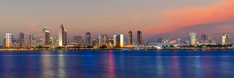 San Diego in Pink