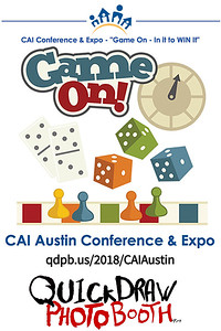 Game On: In it, to Win it. CAI Austin 2018 Conference and Expo