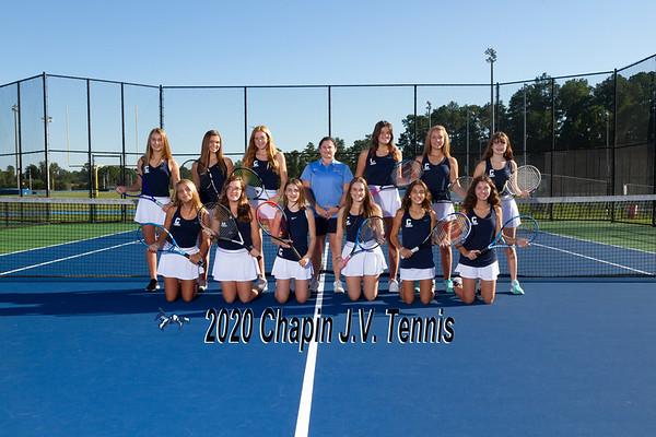 2020 Tennis  JV Girls