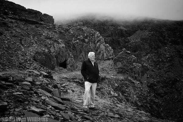 Jackie Parry - Ex Quarryman - Dinorwic Slate Quarry