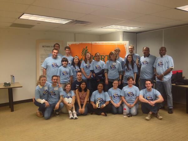 Dallas DFW Emory Cares Day 11.2.2013
