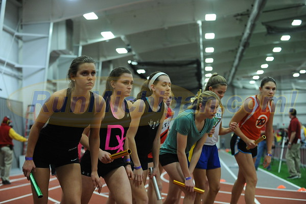 Girls' DMR - 2016 MITS State Meet