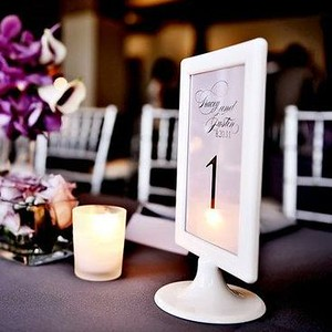 28320 Photo frame table number or menu holder