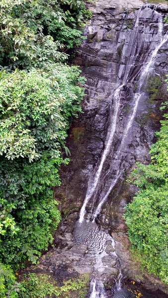 Campesinos Waterfall, Quepos