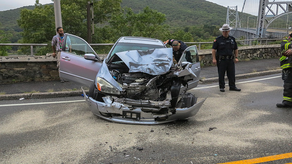 9-30-16 MVA With Injuries, Bear Mountain Bridge Road