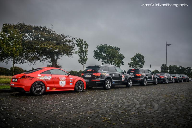Audi Ireland - World Record Convoy