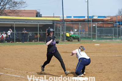 Girls Potomac Falls vs. Loudoun County 3/22/04 (By Jeff Scudder)