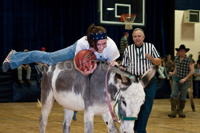 Donkey basketball 2009