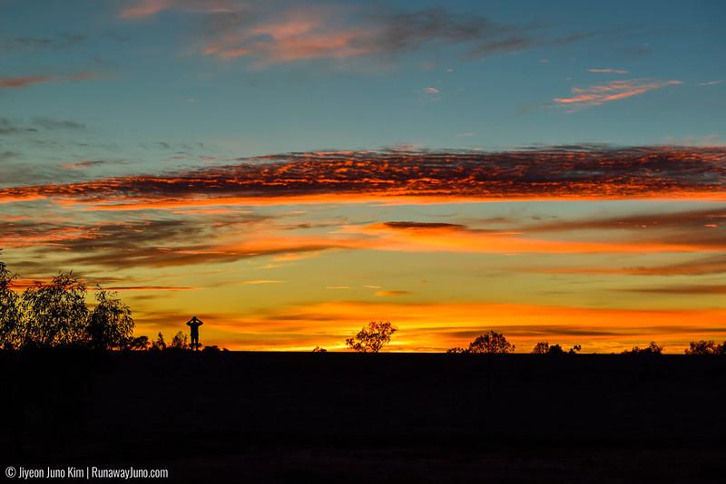 Sunrise in Bedourie