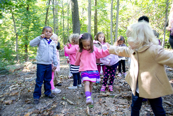 Preschool on Low Ropes Course