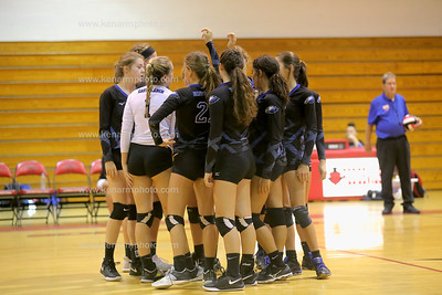 East Bladen vs Red Springs volleyball 2018