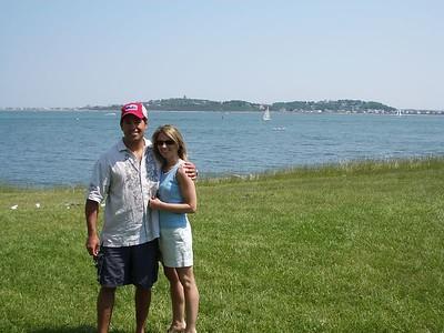 Georges Island Boston Harbor