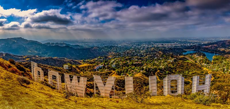 Hollywood Sign Pano