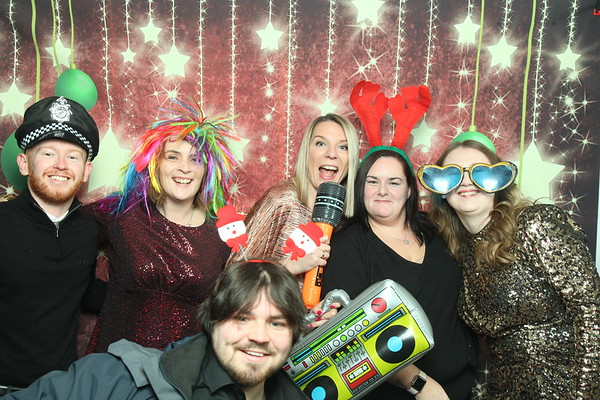 Photo Booth Hire - R&W Scott Christmas Party