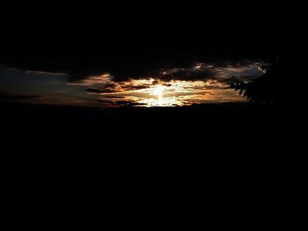Sunset and Sun pillar # 1483.jpg